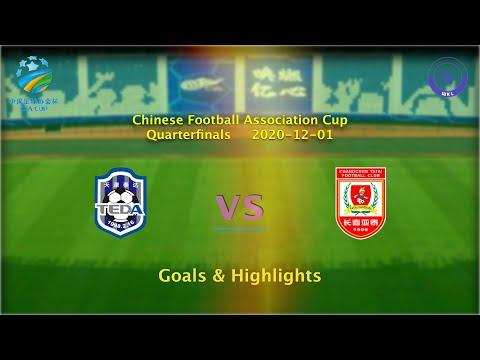 Tianjin Teda Changchun Yatai Goals And Highlights