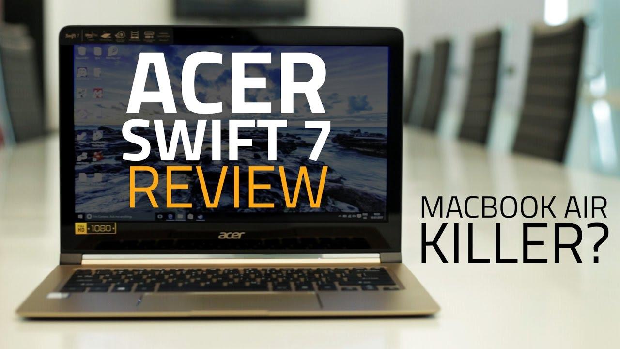 Acer Swift 7 'World's Slimmest Laptop