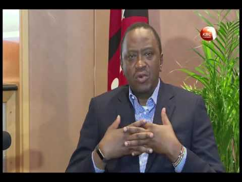One on One interview with President Kenyatta on Hate Speech
