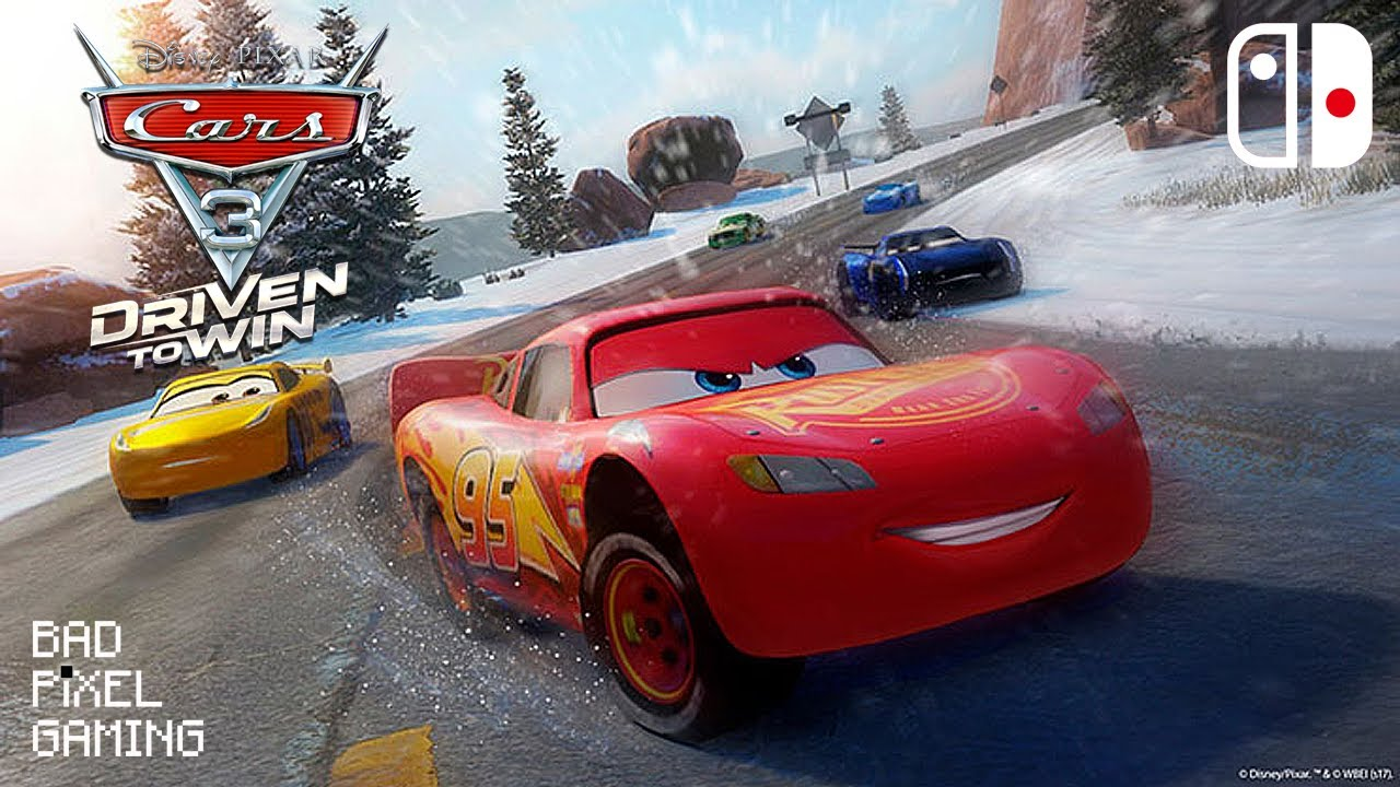 Cars 3 Driven To Win Nintendo Switch Gameplay Video Youtube