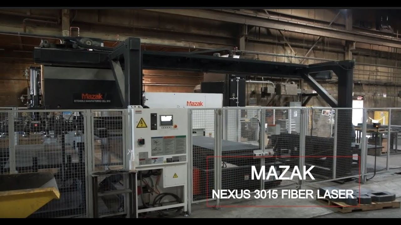 Equipment Spotlight: Mazak Nexus 3015 Fiber Laser