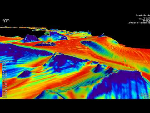 EIVA NaviSuite - Multibeam surveys and seabed mapping - Visualisation by video in NaviModel
