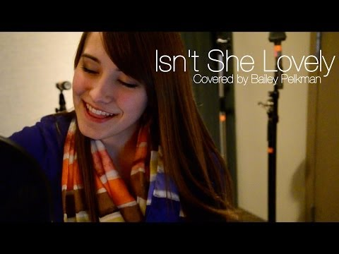Isn't She Lovely - Stevie Wonder (cover)