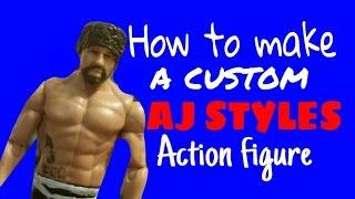 Hoe maak je een aangepaste AJ STYLES action figure!!