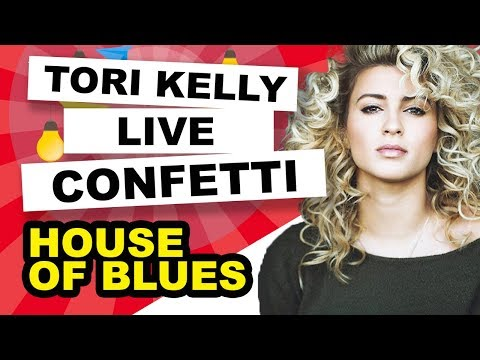 Tori Kelly - Confetti Live with band (House of Blues 8-9-12)