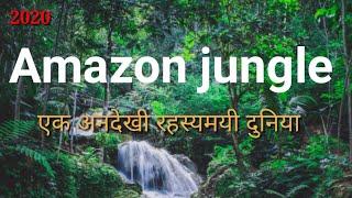 ✅2018 Amazon jungle in hindi। amazon rainforest and rivers। facts about amazon jungle
