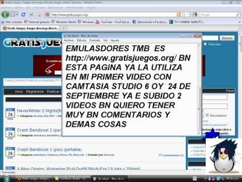 RECOMENDANDO UNA PAGINA PARA DESCARGAR JUEGOS DE PSX PSX2 DS GBA CON EMULADORES