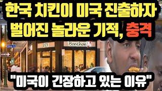 [단독해외반응] 한국 치킨이 미국 진출하자 벌어진 놀라…