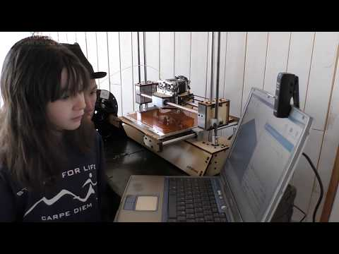 RWG - ADOPT-A-BOT Day 9: 3D printing Can Be Frustrating! : Free 3d Printer For A School YOU Pick!