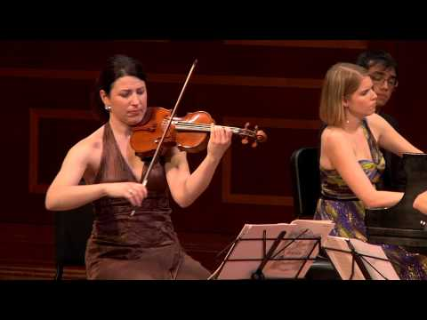 Cortona Trio plays Piano Trio No.3, ii