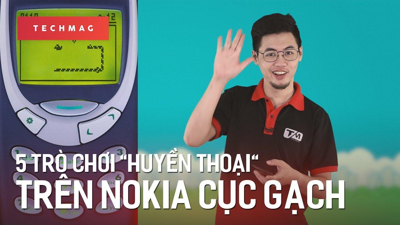 """TechBack: 5 trò chơi """"huyền thoại"""" trên những chiếc Nokia cục gạch"""