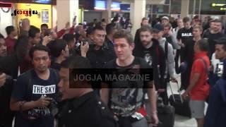 TIM NASIONAL ISLANDIA TIBA DI YOGYAKARTA - ICELAND FOOTBALL TEAM ARRIVED IN INDONESIA