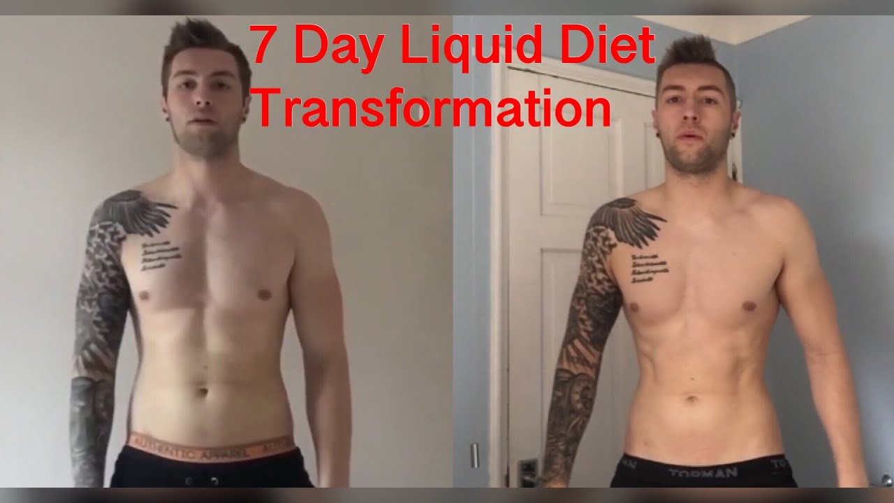 liquid only diet results