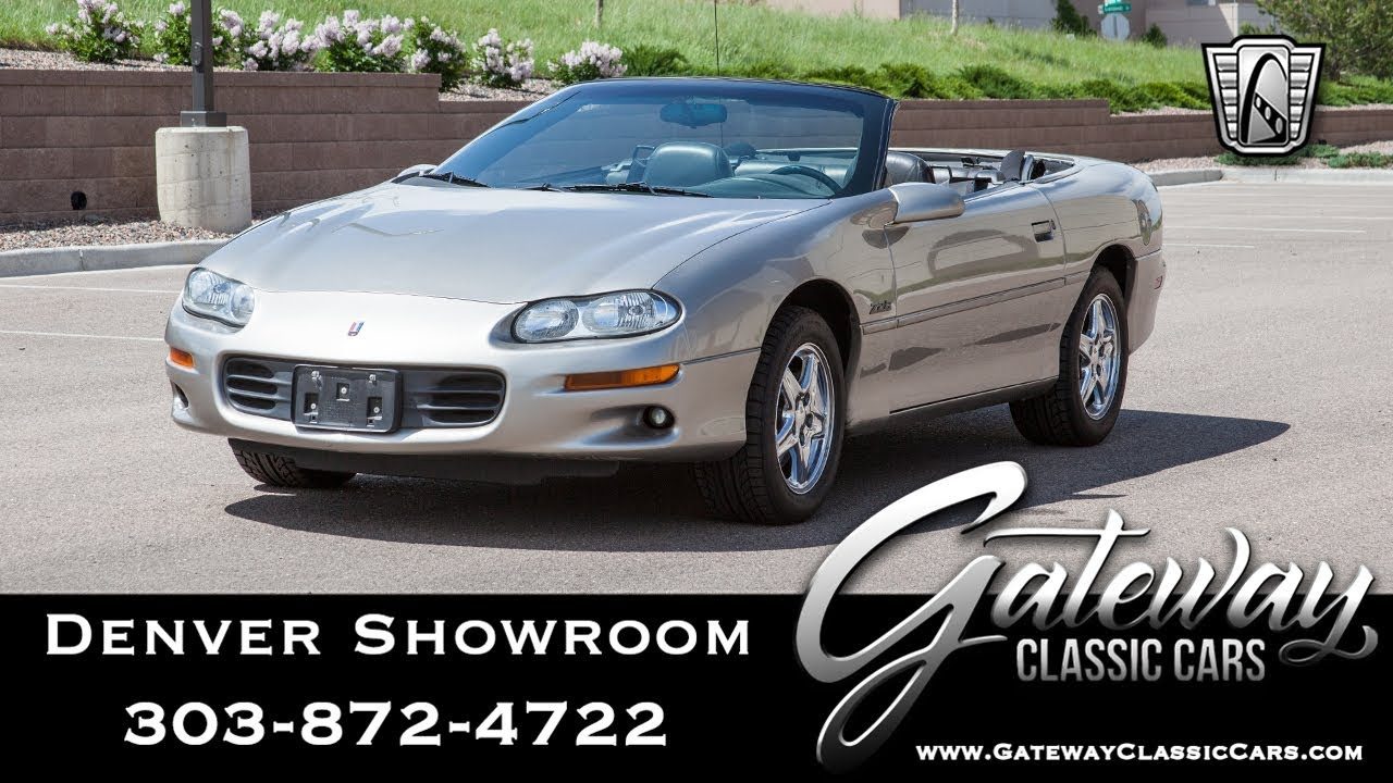 hight resolution of 2000 chevy camaro z28 denver showroom 559 gateway classic cars