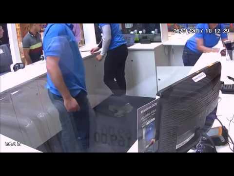 Assalto hoje na Loja da Samsung no Shopping São José