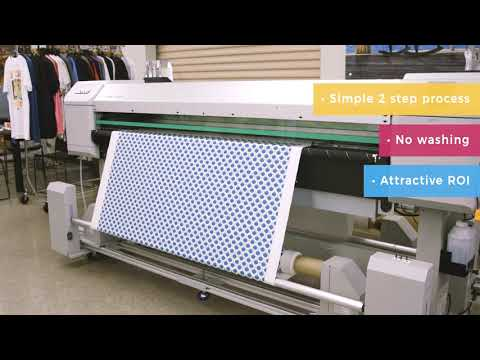 Printing On Cotton With The Mutoh VJ-1938TX | ITNH, Inc.