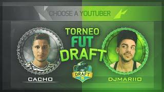 FIFA 15 | TORNEO FUT DRAFT | Jornada 1 | DjMaRiiO vs Cacho01