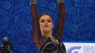 Софья Самодурова Короткая программа Женщины Финал Кубка России по фигурному катанию 2020 21