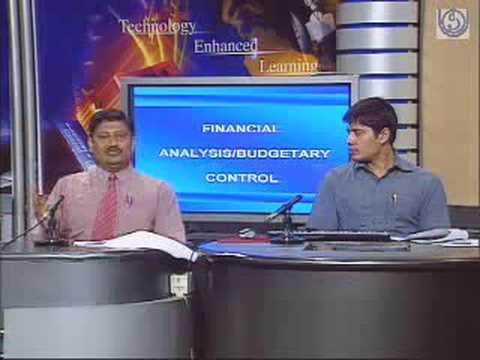 Financial Analysis Budgetary Control