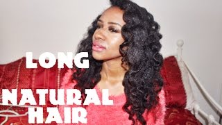 The Small Print of Long Natural Hair (type 4)