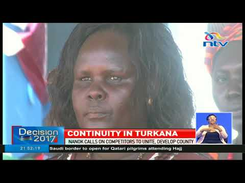 Turkana governor Josphat Nanok sworn in