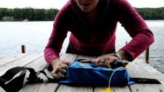 PART 2:  REPACKING AND RE-ARMING THE MTI FLUID BELT PACK PFD