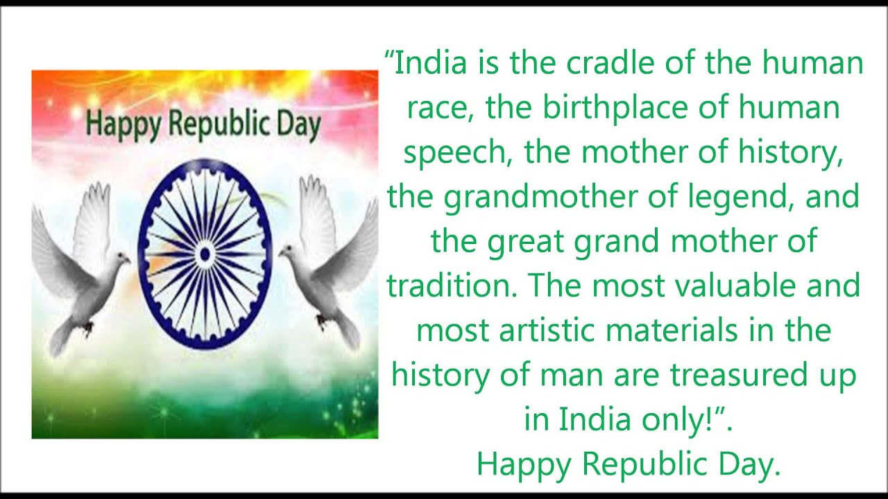 Happy republic day 2017 sms messages greetings wishes quotes happy republic day 2017 sms messages greetings wishes quotes youtube m4hsunfo Image collections