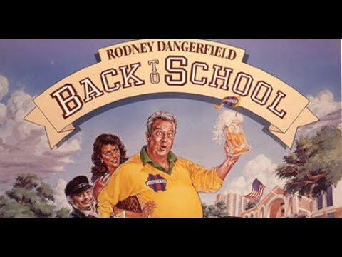 Rodney Dangerfield in Back to School (1986) with NHP Commentary