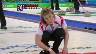 Curling Women JPN vs CAN Complete Event | Vancouver 2010