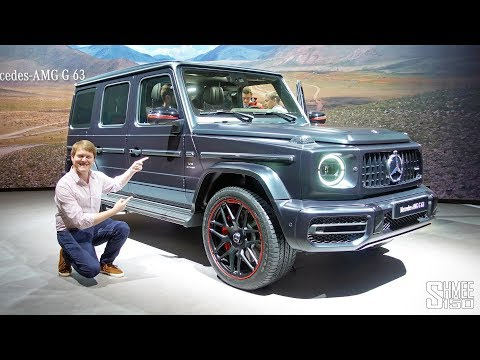 NEW Mercedes-AMG G63 - I'd Buy This One! | FIRST LOOK