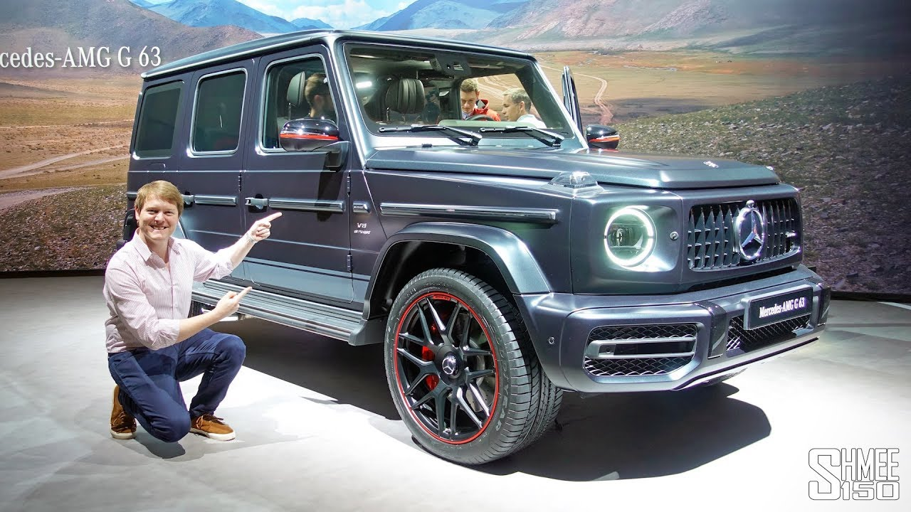 new mercedes-amg g63 - i'd buy this one! | first look - youtube