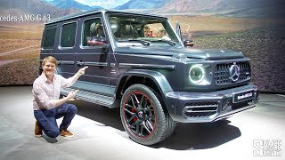 NEW Mercedes-AMG G63 - I'd Buy This One!   FIRST LOOK