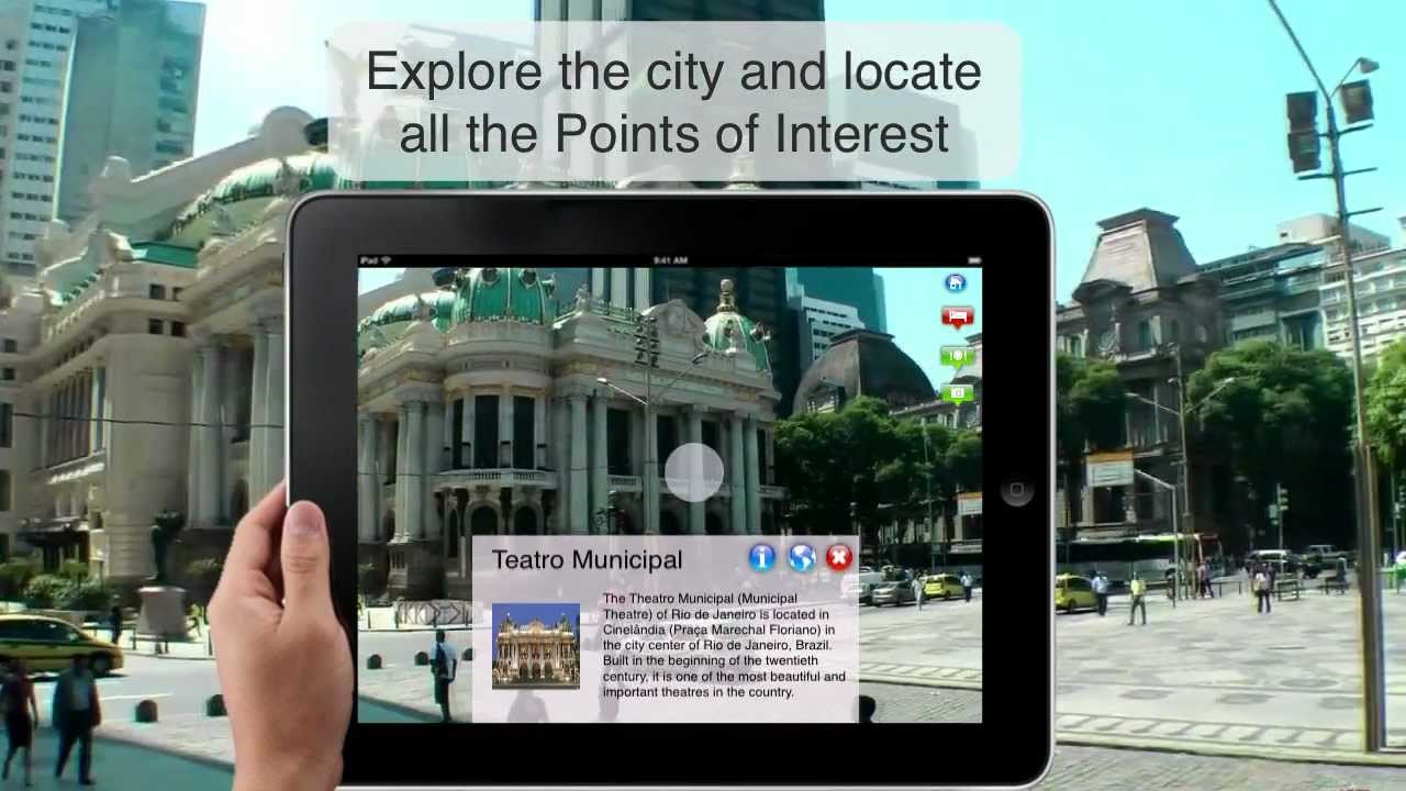 02981189489d Rio de Janeiro - HD - Brazil - Tourist Guide with Augmented Reality -  Travel to Rio - How to - YouTube