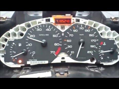 Arreglar Cuadro Mando O Velocimetro De Peugueot 206 Youtube