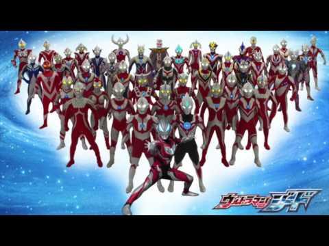 "All ""Ultraman"" theme lyrics 1966-2017"