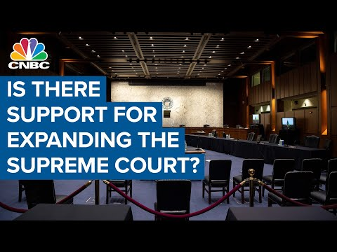 Is There Support For Expanding The Supreme Court?