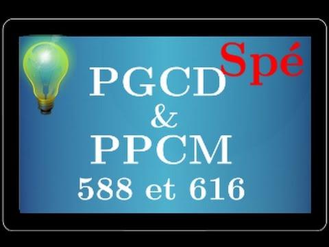 PGCD et PPCM - en utilisant la décomposition en facteur premier - arithmétique - spé maths - 💡💡💡