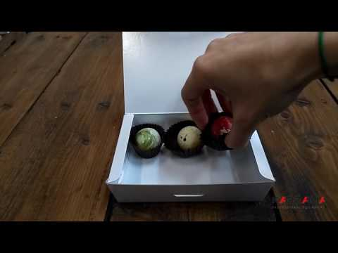 How to assemble chocolate box (Big case) / Как собрать коробку для шоколада (Балотин большой)