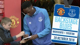 YERRY MINA'S UNIQUE PRE-MATCH RITUAL | BACKSTAGE BLUES: MANCHESTER UNITED V EVERTON