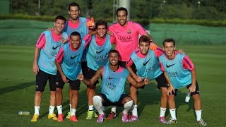 Training session 11/08/2014 (afternoon)