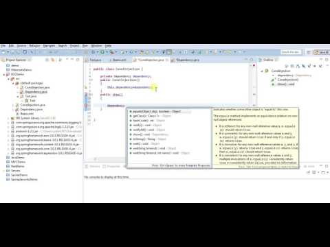 Constructor Dependency injection