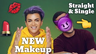 Unboxing Free Makeup with a Straight Guy | Gabriel Zamora