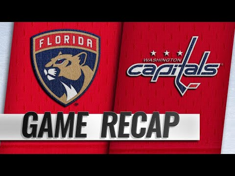 Hoffman's OT winner helps Panthers top Capitals