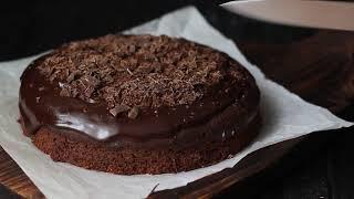 Шоколадный пирог из цельнозерновой муки без сахара и яиц. ПП рецепт