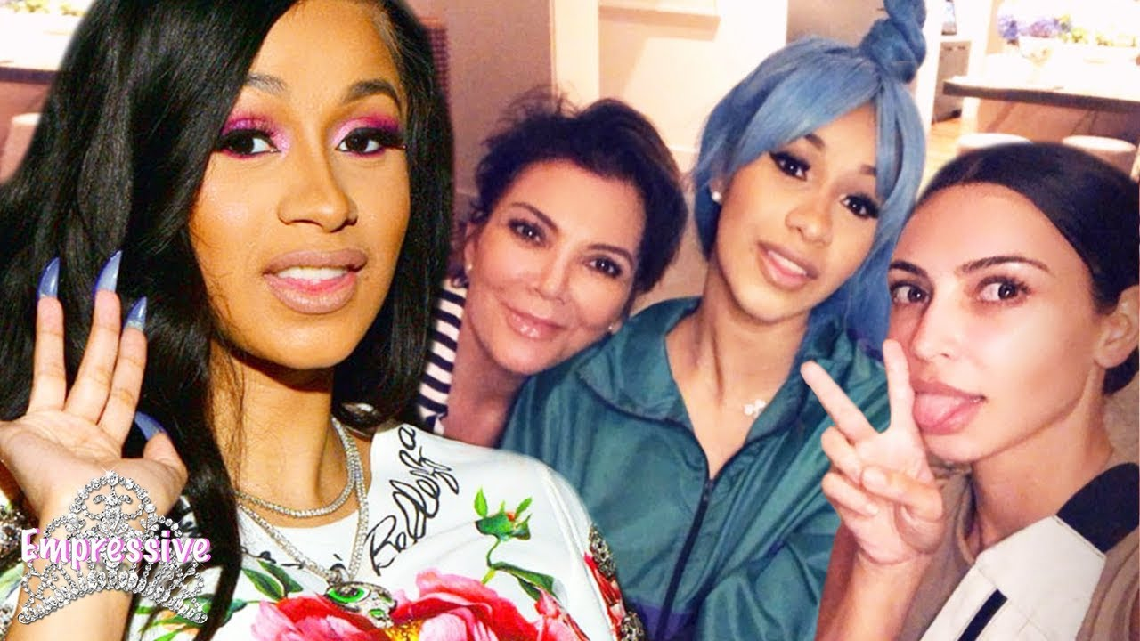 Cardi B links up with the Kardashians...is this a good idea?