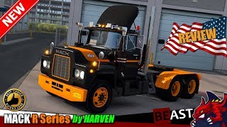 "[""American Truck Simulator"", ""truck mod"", ""MACK R Series"", ""by HARVEN""]"