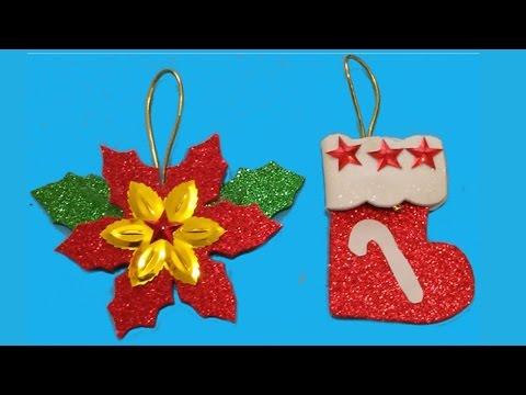 Manualidades para navidad adornos navideos Manualidades de Lina