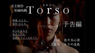 佐々木心音 共同自主制作短編映画「Torso」予告編 自主制作写真集 「the art nude 6 」とのコラボ作品として ショートムービーを制作。 たった二人で紡ぎあげた、官能ホラー ...