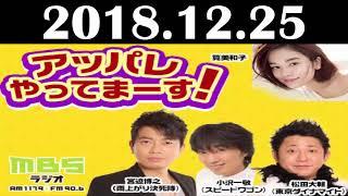 2018 12 25 アッパレやってまーす!火曜日 宮迫博之(雨上がり決死隊)...