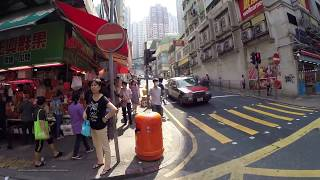【Hong Kong Walk Tour】Central Mid-level - Sai Ying Pun - Sun Yat Sen Memorial Park